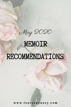Memoirs to read in 2020 - some recommendations for literary memoir and creative non-fiction for #bibliophiles, readers and #writers alike!