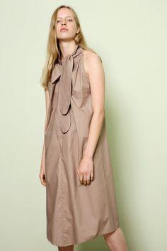 Dress Carioca in Cotton Poplin Polka Dots