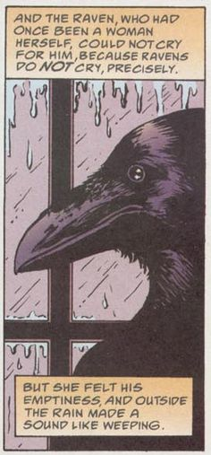 "Love this Wee Story of Raven and the metaphor of the Rain and weeping...... ""Once Upon a Time…"" by Blue Ruins"