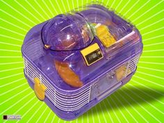 purple hamster cage | ... hamster cages purple space probe dwarf hamster mouse cage free uk Dwarf Hamster Cages, Mouse Cage, Space Probe, Harry Potter Anime, Pet Cage, Free Uk, Pets, Purple, Animales