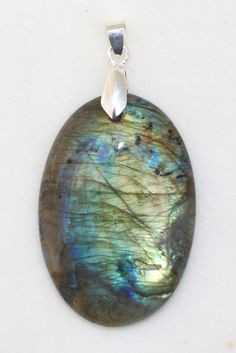 Metaphysical Gifts, Cards, Wrap and Crystals | Life Is A Gift Shop - Spectrolite Labradorite Pendant - Luminescent Polished Spectrolite Crystal Oval Pendant to Enhance Psychic Ability, $31.95 (http://lifeisagiftshop.com/spectrolite-labradorite-pendant-luminescent-polished-spectrolite-crystal-oval-pendant-to-enhance-psychic-ability/)