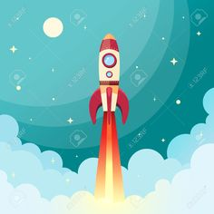 rocket illustration - Google Search