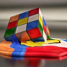 Rubik's Cube Meltdown