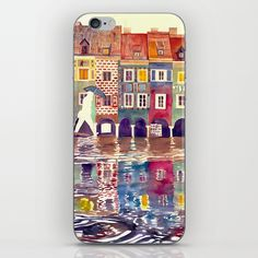 Evening in Poznan iPhone & iPod Skin
