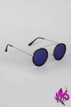 Retro Vibe Round Sunglasses