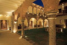 Hotel Inkaterra La Casona, Cuzco, Peru - architectural style of both the Incan and Spanish empires
