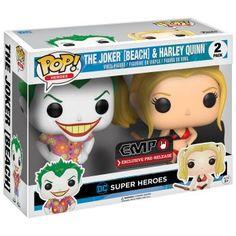 Batman The Joker & Harley Quinn (Beach) Figurine de collection Standard