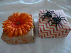 Fun handmade boxes for fall
