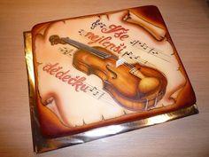 Violin - airbrush