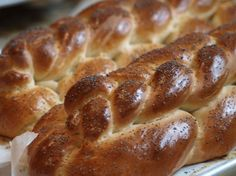 Famous Challah. Photo by The Jelly Room- not as good as Garfinkel's recipe but makes a much smaller amount!