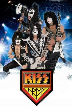 I was so afraid of these guys.  Well, mostly Gene Simmons.  Kiss