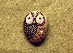 painted rock owls - Google Search