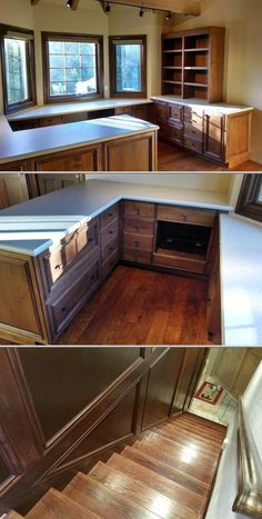 Klaus Schneider is one of the framing contractors who provides finish carpentry and crown molding. This professional also installs baths, kitchens, and custom wood cabinetry in all rooms.