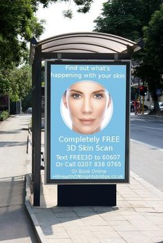 Yes it's totally FREE. Understand completely what is happening with your skin. Text FREE3d or Call 0207 838 0765 #skincare #beauty #skin
