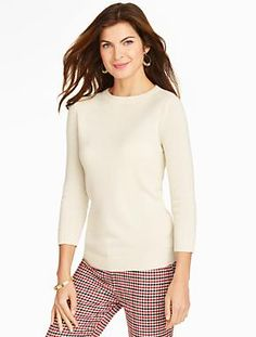 Search Results: cashmere audrey sweater | Talbots.com