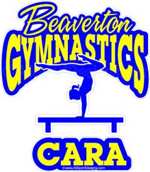 Car Decals Magnets Wall Decals And Fundraising For Gymnastics - Auto decals and magnets