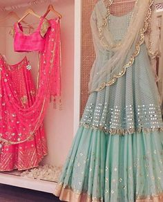 52 Ideas embroidery machine hands for 2019 Gharara Designs, Lehenga Designs, Indian Wedding Outfits, Indian Outfits, Indian Attire, Indian Wear, Pakistani Dresses, Indian Dresses, Indian Designer Outfits