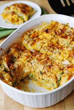 BUTTERNUT SQUASH AND SPINACH LASAGNA http://juliasalbum.com/2014/11/butternut-squash-and-spinach-lasagna/