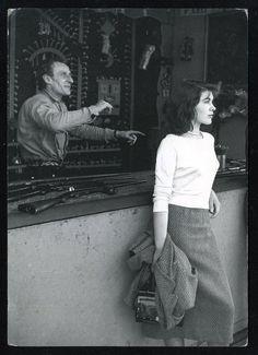 """Paris 1950 """"La fête foraine""""  Foto: Izis"""