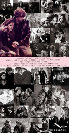 Harry Potter Ron Weasley, Harry And Ginny, Harry Potter Draco Malfoy, Ron And Hermione, Harry Potter Ships, Harry Potter Facts, Harry Potter Movies, Hermione Granger, Severus Snape