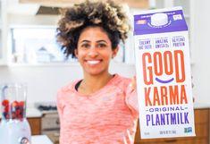 ►► Try Good Karma Plantmilk for FREE! ►► #Free, #FREEStuff, #Freebie, #MeatFreeMonday, #MeatlessMonday, #NonGmo, #PlantBased, #Vegan ►► Freebie Depot Free Stuff, Grocery Store, Karma, Protein, Vegan, Vegans