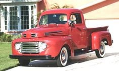 #trucks pictures Best Pickup Truck, Vintage Pickup Trucks, Classic Chevy Trucks, Old Trucks, Farm Trucks, Classic Cars, 1948 Ford Truck, Ford Ranger Truck, Ford Pickup Trucks