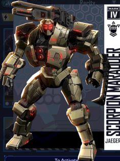 Pacific Rim Jaeger, Gipsy Danger, Tron Legacy, Iron Man Suit, The Munsters, Cult Movies, League Of Legends, Superhero, Scorpion