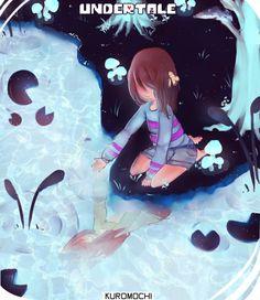 Waterfall's reflection by Kur0Mochi on DeviantArt