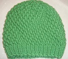 Baby Knitting Patterns Beanie Knit moss pattern – simple design, great effect! Baby Knitting Patterns, Loom Knitting Blanket, Easy Knitting, Knitted Blankets, Knitted Hats, Crochet Hats, Diy Blankets, Start Knitting, Diy Crochet