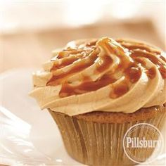 Caramel #Macchiato #Cupcakes from Pillsbury® Baking