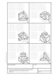 Orthographic Projection, Orthographic Drawing, Basic Sketching, Technical Drawing, Isometric Sketch, Isometric Drawing Exercises, Perspective Drawing Lessons, Geometric Construction, Interesting Drawings