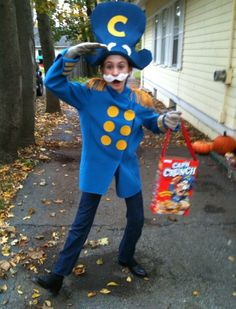 Captain Crunch Costume For Sale