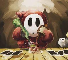 Hoy hacemos tributo a uno de los enemigos más antiguos y misteriosos de #supermario... Es uno de los personajes que se ha mantenido durante los años incluso apareciendo en el último #mariokart8 de #wiiu  Personaje querido por muchos olvidado por pocos. #sectorn #nintendo #mushroomkingdom #mariobros #nes #videogames #videojuegos