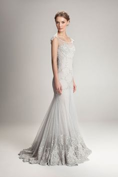 20 1920's Great Gatsby and Downton Abbey Inspired Wedding Dresses
