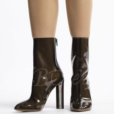 AdoreWe - TBDress Pointed Toe Back Zipper Patchwork Womens Boots - AdoreWe.com