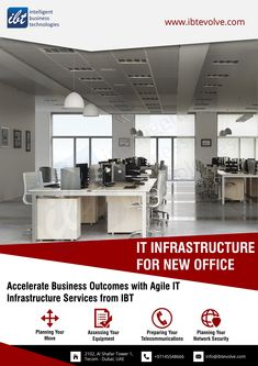 We can help you design and implement an intelligent IT infrastructure that enables the digital business and drives higher performance. Office Automation, Innovation Strategy, Business Continuity Planning, Multifunction Printer, Office Setup, Communication System, Business Technology, Asset Management, Dubai