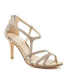 Pelle Moda Ruby Jeweled Dress Sandals