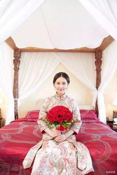 Nicky Wu and Liu Shi Shi Weds