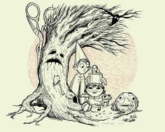 Over the Garden Wall print by JMDragunas on Etsy https://www.etsy.com/listing/466578317/over-the-garden-wall-print