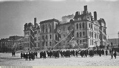 Hôtel de ville  2/-incendie du 3 mars 1922.