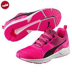 Puma Unisex-Kinder Carson Runner Mesh VE V Inf Low-Top, Pink (Knockout Pink White 04), 20 EU