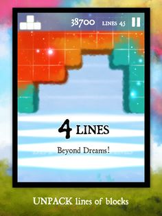 Dream of Pixels, a beautiful falling blocks puzzle game. Block Puzzle Game, Games, Dawn, Dreams, Play, Plays, Gaming, Game, Toys