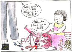 All she had were dolls
