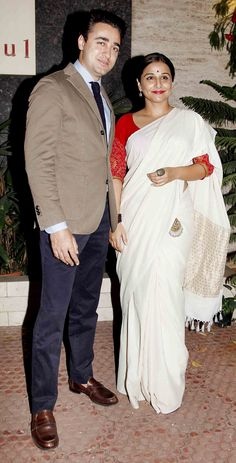 Imran Khan and Vidya Balan at the Sculptor show held at Gallery Art and Soul. #Bollywood #Fashion #Style #Beauty #Handsome