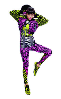 460020dd35d7d Jeremy Scott adidas Originals: Dolly Fashion, 90s Fashion, Fashion Art,  Funky Fashion