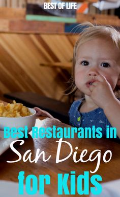Eating out with kids at the best restaurants in San Diego can be carefree and fun for everyone in the family if you dine at the best restaurants in San Diego to go to with kids. Kids Restaurants, Kid Friendly Restaurants, San Diego Restaurants, California With Kids, California Travel, San Diego Vacation, Hawaii Vacation, Vacation Ideas, Family Fun Magazine