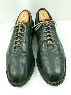 5e4d3644d1ec1 Allen Edmonds Black Leather Voyager Oxford Casual Walking Shoes Size 11 D