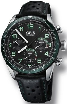 Buy Now Oris Calobra Chronograph Limited Edition II Mens Swiss Luxury Watch - Lowest Price Guaranteed Authentic FREE Overnight Shipping Amazing Watches, Beautiful Watches, Cool Watches, Watches For Men, Oris Watches Men, Black Watches, Unique Watches, Fine Watches, Sport Watches