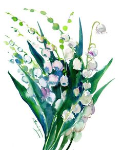 Buy Lilies of The Valley, Watercolor by Suren Nersisyan on Artfinder. Discover thousands of other original paintings, prints, sculptures and photography from independent artists. Watercolor Paper, Watercolor Flowers, Original Art, Original Paintings, Paper Tags, Lily Of The Valley, Lilies, Lovers Art, Buy Art