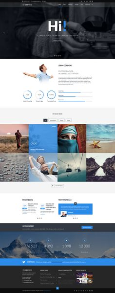 Corpress - Business and Infographics WP Theme #web